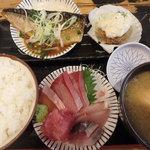タカマル鮮魚店 - 本日のセット¥1,080