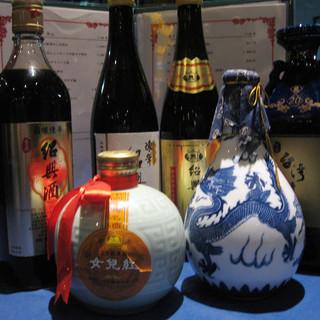 奥深い中国の美味しさを…★オーナー厳選!種類豊富な中国酒◎