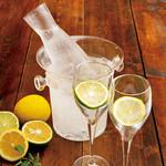 寿司ろばた 八條 - ドリンク写真:【12月限定】ストレート獺祭レモンサワー