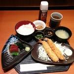 三代目網元魚鮮水産 - 料理写真:日替り定食A(690円)