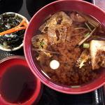 米寿司 - 酢の物、味噌汁