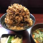 天久 - かき揚げ丼(小)