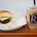 グリンコーヒー - 十勝あんバターとアイスカフェオレ