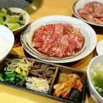 好味亭 - カルビランチ     ¥1450