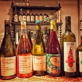 日本ワインは珍しい銘柄多数あり!
