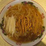 97558323 - 豚絲麺のアップ