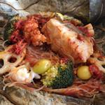 個室中華 頤和園 - 中身の石斑魚
