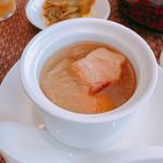 個室中華 頤和園 - 季節の蒸しスープ