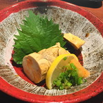 えびす鯛 - あん肝ポン酢(745円)