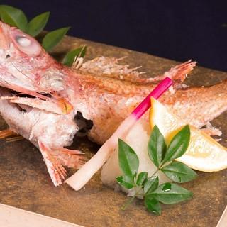 【高級鮮魚のどぐろ】原価度外視で提供