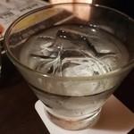 音波 - 芋焼酎六代目百合ロック