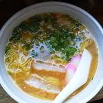 千崎製麺 - みそラーメン 細麺大盛 400円