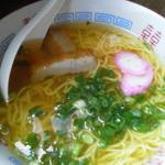 千崎製麺 - むかしながらのしょうゆラーメン 細麺 250円
