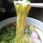千崎製麺 - みそラーメン拡大図