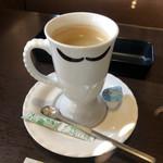 びっくりドンキー - シングルエステート珈琲 本当はアイスコーヒーを頼んだのですが⁈