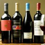 ワインはワイナリーから直接買い付けたものをメインに取り揃えています!