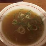 八宝亭 - 丼スープ