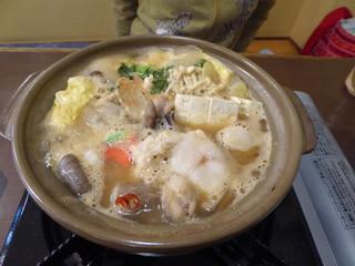 大洗 お魚食堂 - あんこう鍋(2120円)_2018-11-23