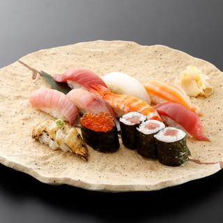寿司職人がにぎる毎日直送新鮮鮮魚の本格寿司