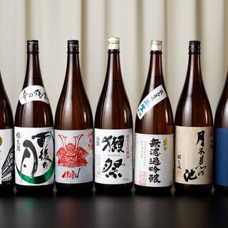 魚介に合う日本酒もご用意