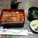 川よし - 料理写真:■鰻重(上)3300円