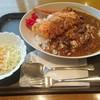 カリー・ド・カフェ 器 - 料理写真:サービスランチ大盛り(豚ロースカツ+ウインナー) ¥750