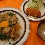 キッチンABC - オリエンタルライス(大盛)セットA(カニクリームコロッケ)