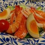 らーめん酒房 遊麺 - サラダ