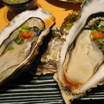 らーめん酒房 遊麺 - 牡蠣