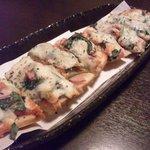 肴房 田 - ピザトースト