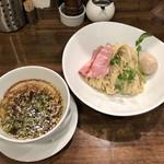 創作麺工房 鳴龍 - 「醤油つけ麺」900円+味玉