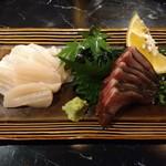 97580579 - タイラギ貝とヤマト鰹の炙り