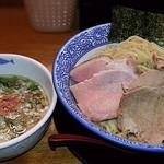 麺匠而今 - 料理写真:【(限定) 鶏塩もりそば + 半熟味付煮玉子】¥880 + ¥100