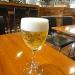 PIZZERIA IMOLA - グラス生ビール