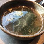 焼肉しん 吉祥寺本店 - ワカメスープ