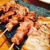 ブー ベース ワセダ - 料理写真:焼きトン串5本盛り