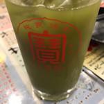 満マル - 濃い〜緑茶ハイ