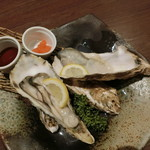 シーフード メヒコ - 生牡蠣(宮城県桃浦かき)