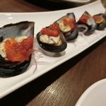シーフード メヒコ - 「国産ムール貝サルサソース」680円