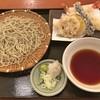 石臼挽きそば 石楽 - 料理写真:海老と冬野菜のおろし天せいろそば
