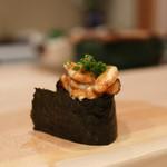 鮨いずみ - 北海道 羅臼 鱈の白子☆