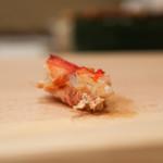 鮨いずみ - 車海老の頭☆
