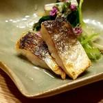 日本料理 e. - 焼きカマスと根三つ葉