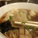 麺や 大和 - 肉ワンタン