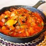 バッカス - 菜園野菜のトマトパッツァ