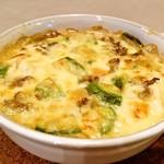 バッカス - 挽肉とアボカドのお豆腐グラタン