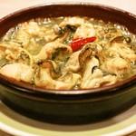 バッカス - 牡蠣のアヒージョ