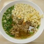 山口県職員会館 食堂 - 料理写真:肉そば 2018.10