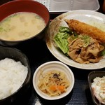 呑み処 やまだ屋 - 【おすすめ】日替わり定食 710円 ご飯おかわり自由