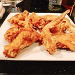 中華料理 桃園 - 塩胡椒のギンって効いてからヨッパでもしっかり味の分かるけん♪